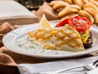 Филе северной рыбы  в сливочном соусе